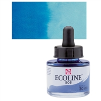 ECOLINE WC 30ML W/DROPPER 505 ULTRAMARINE LIGHT TN11255051