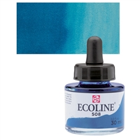 ECOLINE WC 30ML W/DROPPER 508 PRUSSIAN BLUE TN11255081