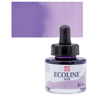 ECOLINE WC 30ML W/DROPPER 579 PASTEL VIOLET TN11255791