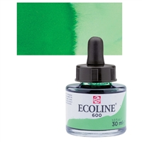 ECOLINE WC 30ML W/DROPPER 661 TURQUOISE GREEN TN11256611