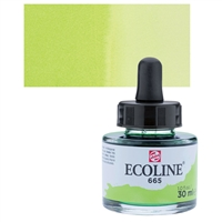 ECOLINE WC 30ML W/DROPPER 665 SPRING GREEN TN11256651