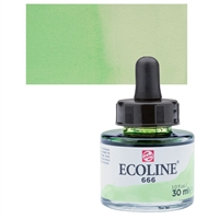 ECOLINE WC 30ML W/DROPPER 666 PASTEL GREEN TN11256661
