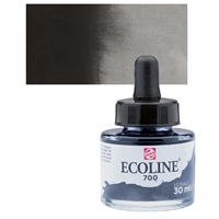 ECOLINE WC 30ML W/DROPPER 700 BLACK TN11257001