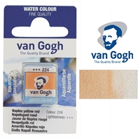 VAN GOGH WC HALF PAN NAPLES YELLOW RED - 224 TN20862241