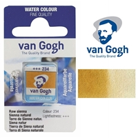 VAN GOGH WC HALF PAN RAW SIENNA - 234 TN20862341