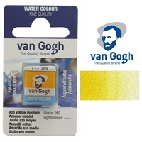 VAN GOGH WC HALF PAN AZO YELLOW MED - 269 TN20862691