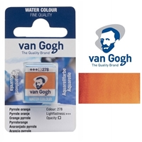 VAN GOGH WC HALF PAN PYRROLE ORANGE- 278 TN20862781