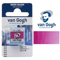 VAN GOGH WC HALF PAN ROSE- 357 TN20863571