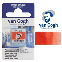 VAN GOGH WC HALF PAN PERMANENT RED LIGHT - 370 TN20863701
