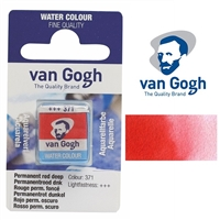 VAN GOGH WC HALF PAN PERMANENT RED DEEP - 371 TN20863711