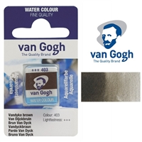 VAN GOGH WC HALF PAN VANDYKE BROWN - 403 TN20864031