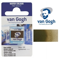 VAN GOGH WC HALF PAN RAW UMBER - 408 TN20864081