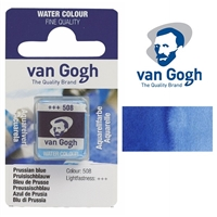 VAN GOGH WC HALF PAN PRUSSIAN BLUE - 508 TN20865081