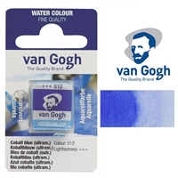 VAN GOGH WC HALF PAN COBALT BLUE - 512 TN20865121