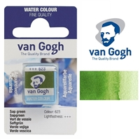 VAN GOGH WC HALF PAN SAP GREEN - 623 TN20866231