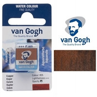 VAN GOGH WC HALF PAN COPPER - 805 TN20868051