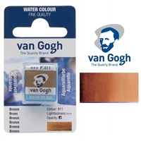 VAN GOGH WC HALF PAN BRONZE - 811 TN20868111