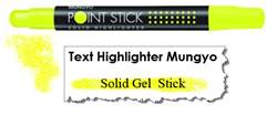 MARKER HIGHLIGHTER MUNGYO YELLOW MSH-12Y
