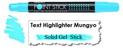 MARKER HIGHLIGHTER MUNGYO BLUE MSH-12B