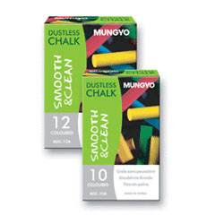 CHALK MUNGYO COLOURED BOX 10  ADC10A