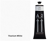 A2 TITANIUM WHITE 120ML 691-CHROMA