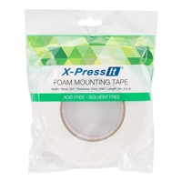 TAPE DOUBLE SIDED FOAM HIGHTACK 3/4 INCHES x 4.4 YARDS CMXFT18