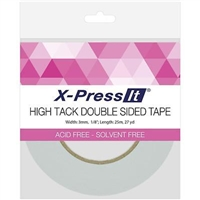 TAPE DOUBLE SIDEED TISSUE TAPE HIGHTACK 1/8 INCH CMXDSH3