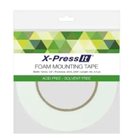 TAPE DOUBLE SIDED FOAM HIGHTACK 1/2 INCHES x 4.4 YARDS CMXFTH12