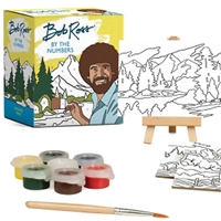 PAINT BY NUMBERS - BOB ROSS MINI KIT RP491681