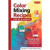 COLOR MIXING RECIPES BOOK FOCRC-2