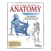 BOOK HOW TO DRAW/PAINT ANATOMY 2ND MVFC9661H