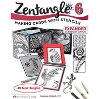 BOOK - ZENTANGLE 6 EXPANDED WORKBOOK EDITION MVFCDO5488