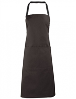 APRON ADULT BROWN DCAC