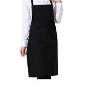 APRON ADULT BLACK DCAN