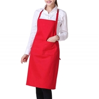 APRON ADULT RED DCAA