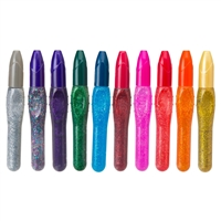 3D PAINT PENS EACH RAINBOW & GLITTER COLORS E198-EACH