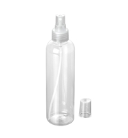 PLASTIC SPRAY BOTTLE 250ml CLEAR PET BOMBAROCITR24